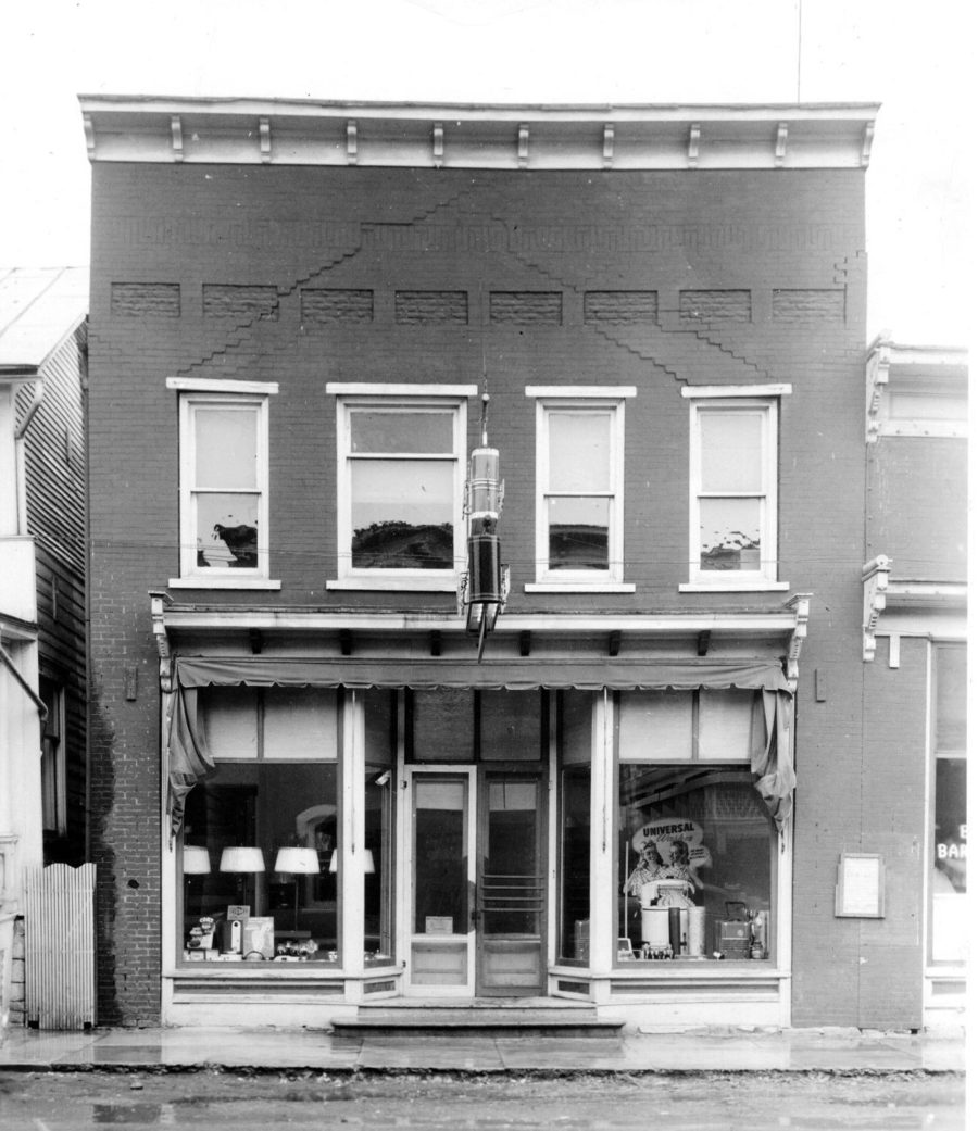 Photo of the Original Store, 1945